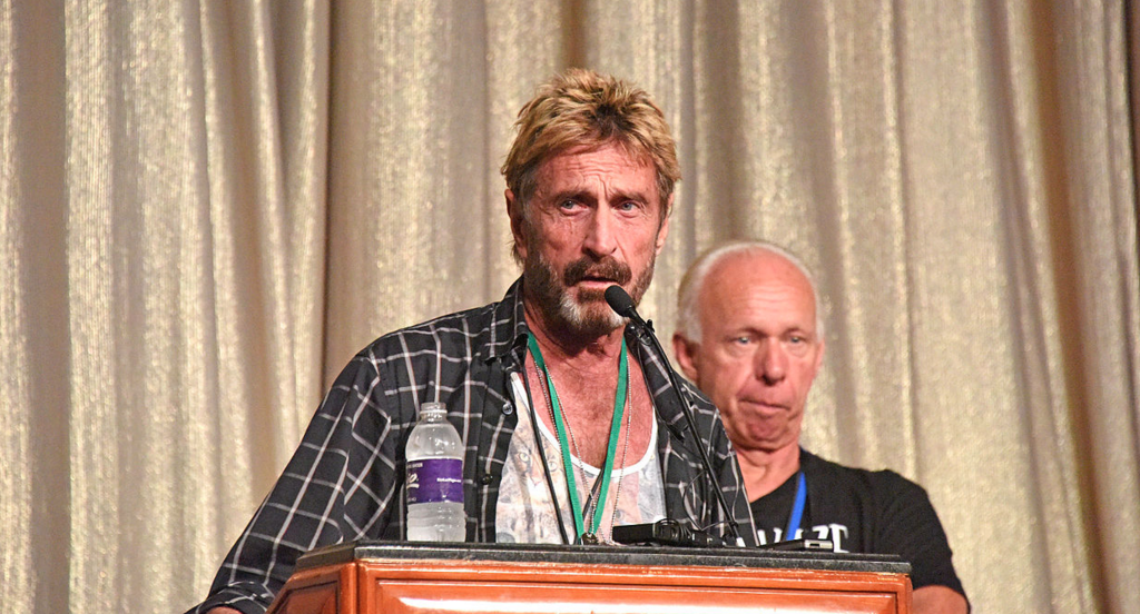 Image: McAfee: If FBI gets backdoor to people's phones, US society will collapse (Video)