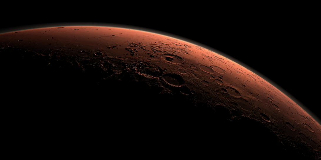 Image: NASA just detected oxygen in the Martian atmosphere (Audio)