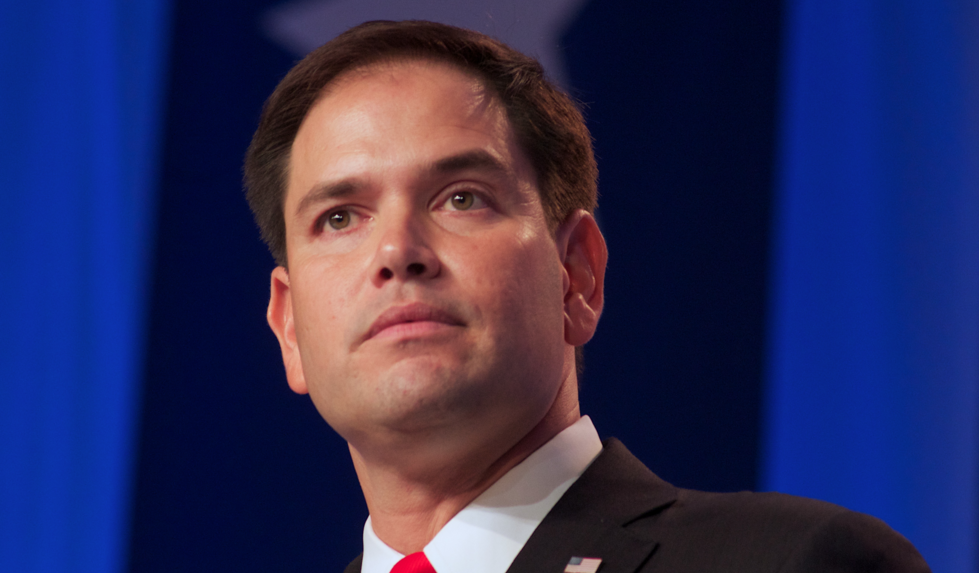 Image: Rubio drops out after Trump destroys him in Florida! (Video)