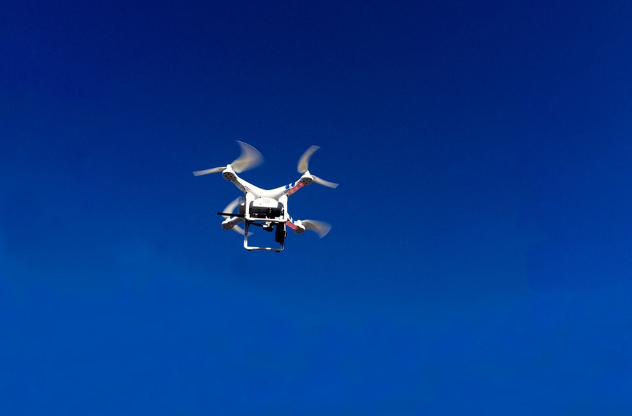 Image: Drone shot out of the sky by neighbours (Video)