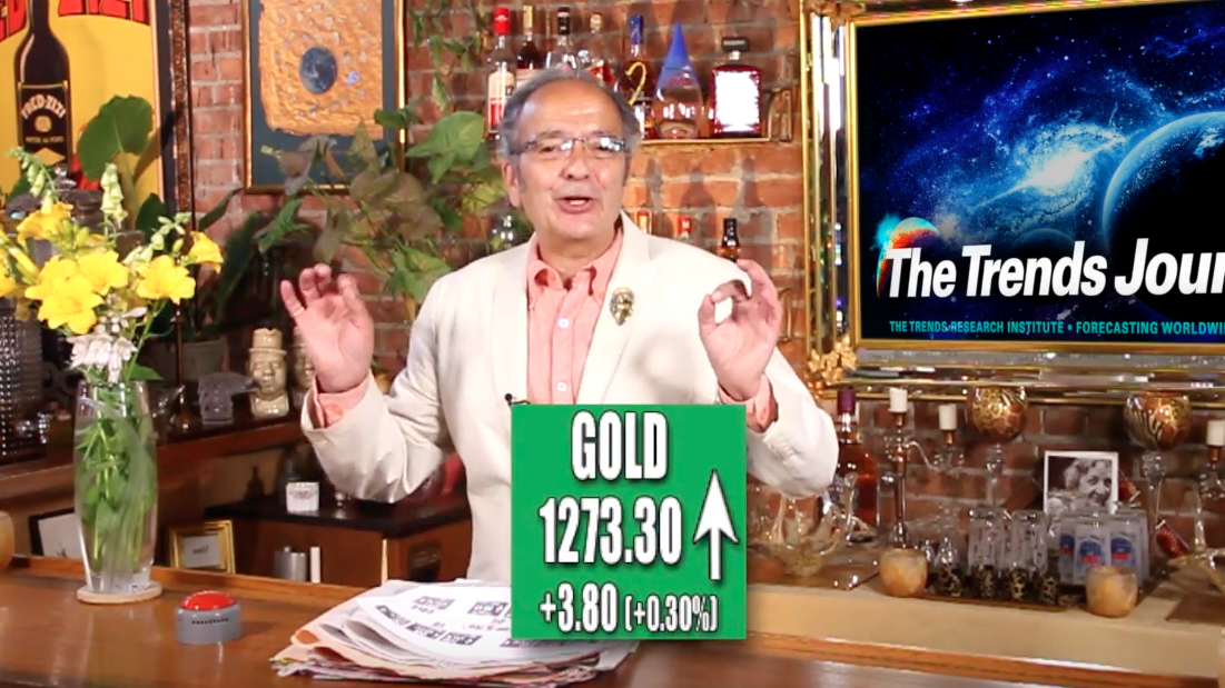 Image: Gerald Celente – as economic outlook dims, gold glows (Video)