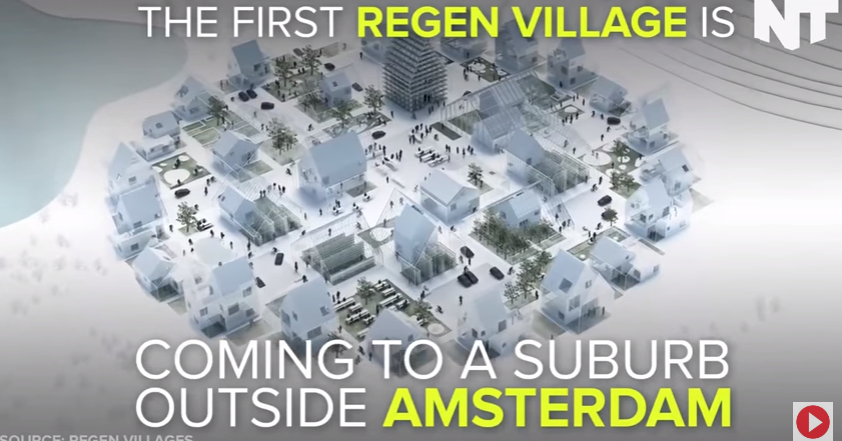 Image: Self Sustaining Neighborhood Produces Its Own Power And Food (Video)