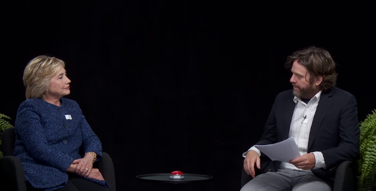 Image: Hillary Clinton: Between Two Ferns With Zach Galifianakis (Video)