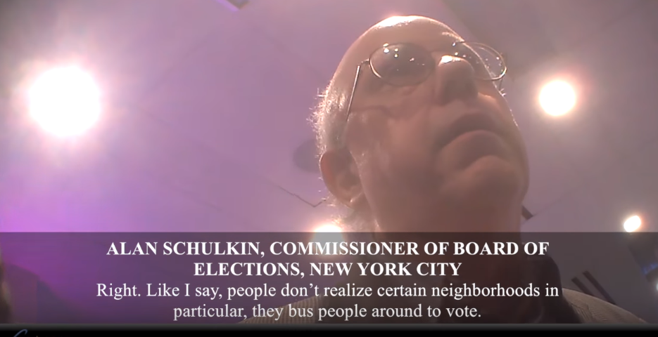 Image: Hidden Camera: NYC Election Commissioner Reveals Voter Fraud (Video)