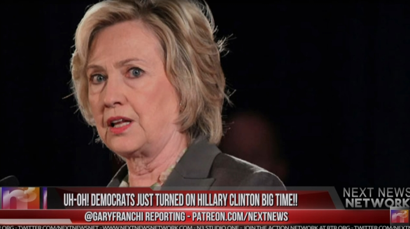 Image: Democrats Now Turning On Hillary Due to Her Newly Exposed Crimes (Video)