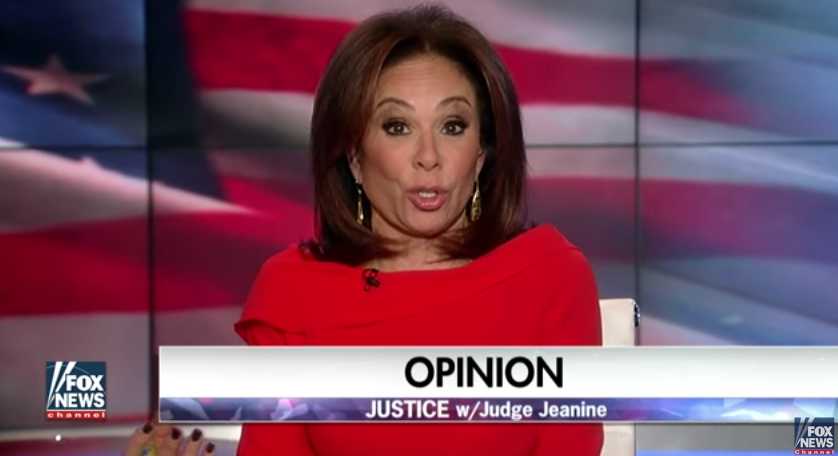 Image: Judge Jeanine Pirro: I, for One, Am Appalled, Hillary (Video)