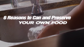 Presere your own food