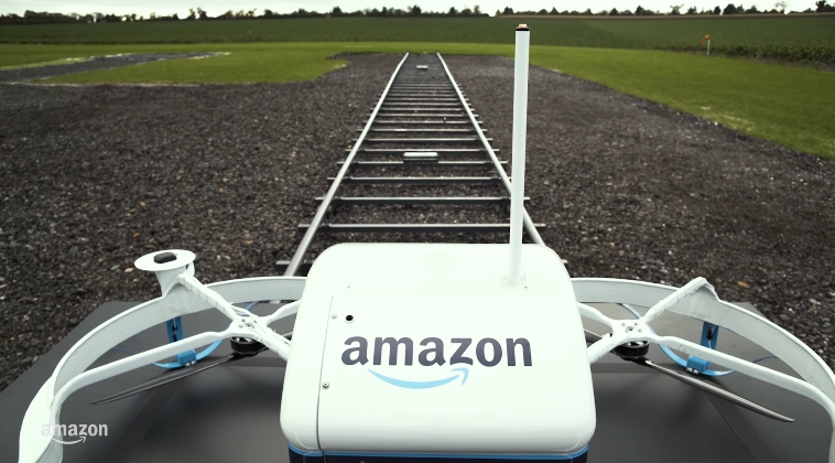 Image: Amazon PrimeAir: Drone Delivery Service in 30min or Less (Video)