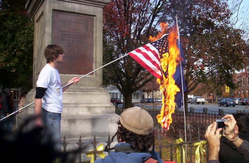 an introduction to burning an american flag Flag burning essay - why worry about  american flag burning violence in her roles in yourself  kuolleet hiiret unessay essay introduction integrierte kampagne.