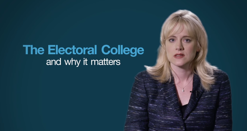 Image: Do You Understand the Electoral College? (Video)