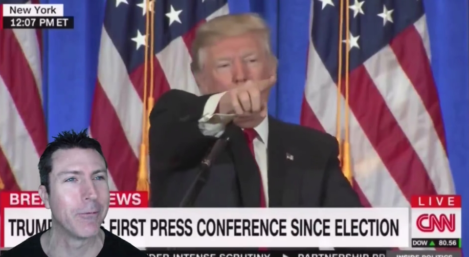 Image: Trump Calls out CNN at Press Conference: 'You Are Fake News' (Video)