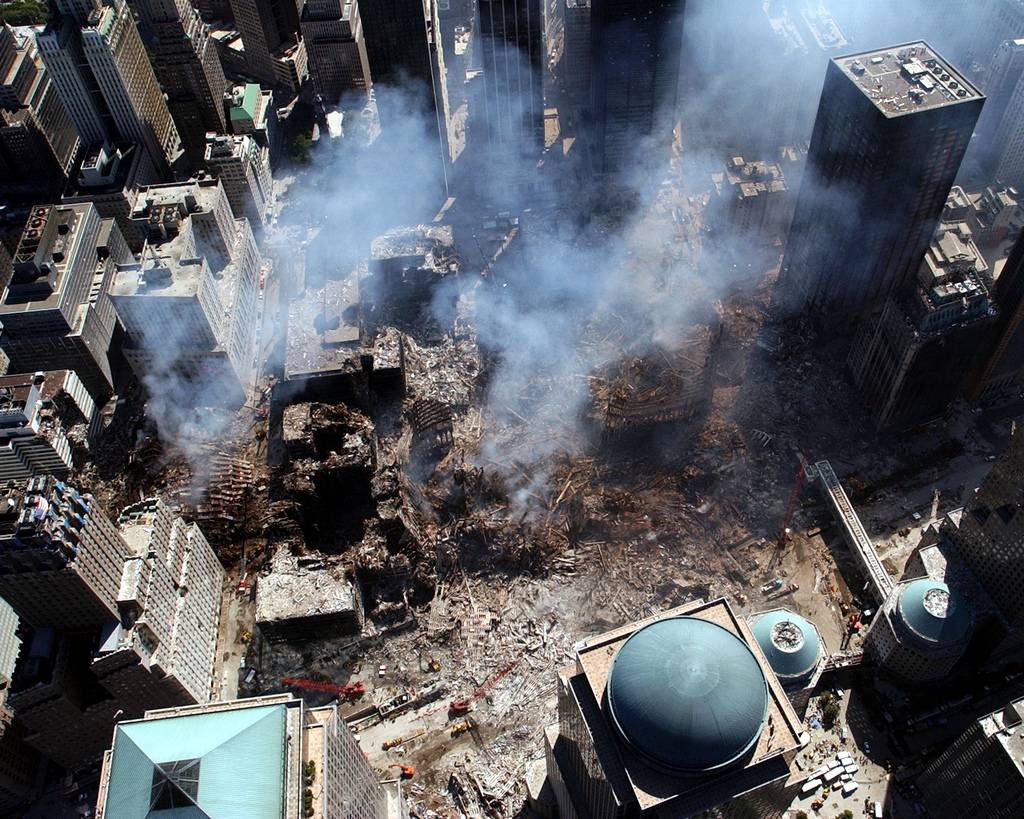 world trade center attack video original
