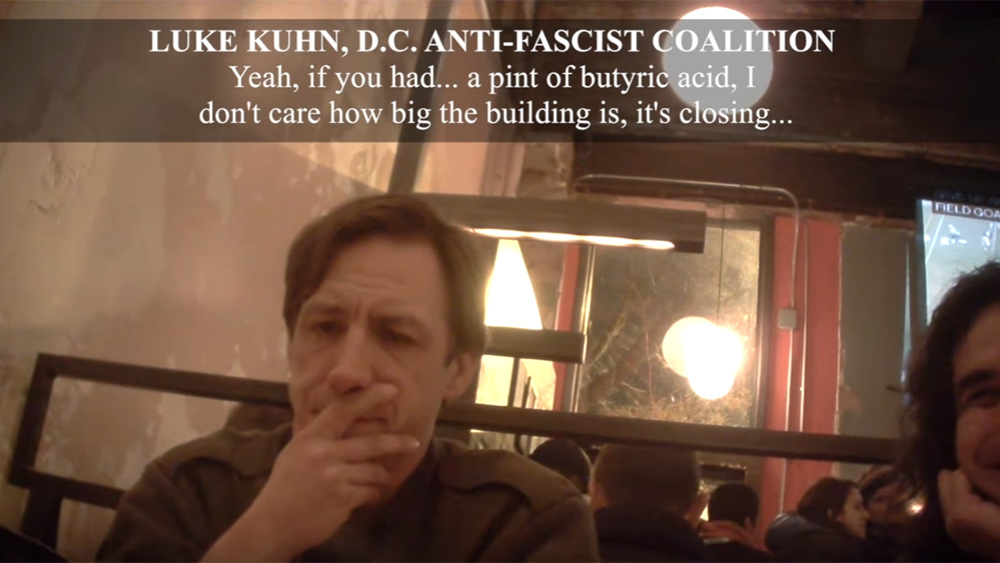Image: Anti-Trump Leftists Caught on Video Planning Violent Terrorist Attacks at Trump's Inauguration (Video)