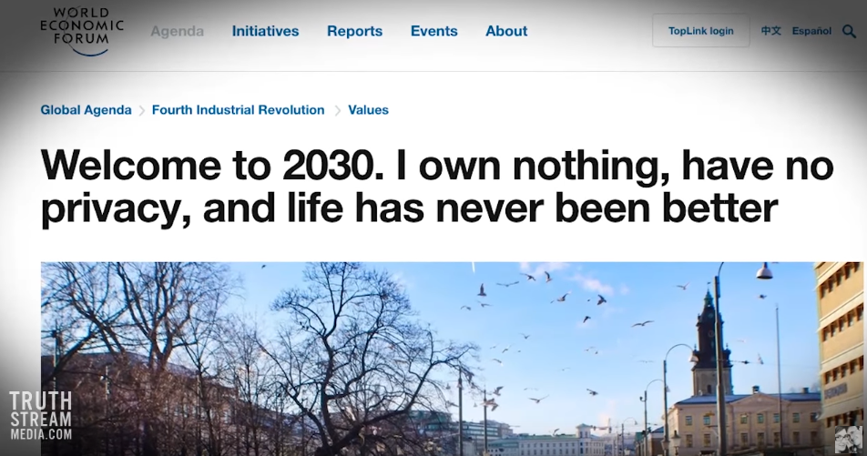 Image: Welcome to 2030: The Elite's Engineered Smart City Where You Won't Own Anything (Video)