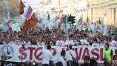 Italy Protests Stop Invasione