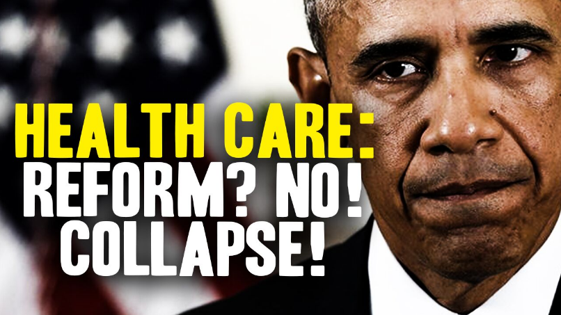 Image: Obamacare Repeal? Try Collapse! (Video)