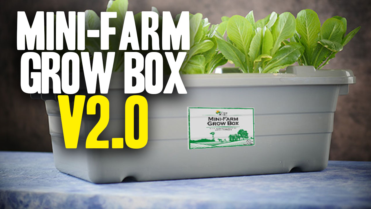 Image: Food Rising Mini Farm Grow Box V2.0 launched by Health Ranger (Video)