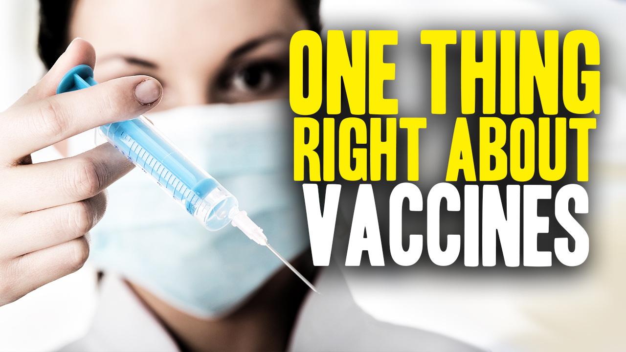 Image: The One Thing the Vaccine Industry Got Right (Video)