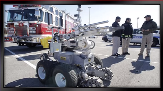 Image: Military Robots in Action (Video)