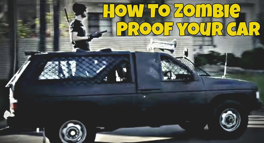 Image: How To Zombie Proof Your Car With Armor and Weapons (Video)