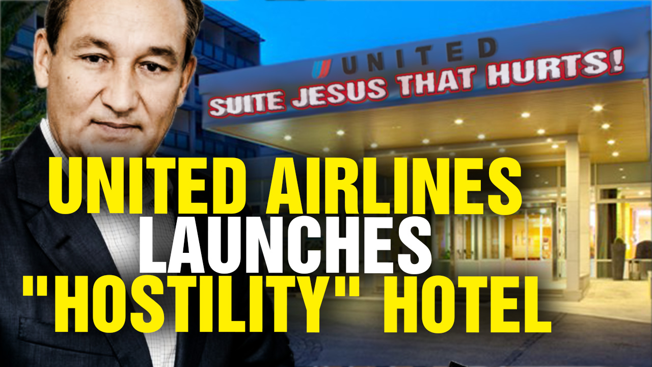 Image: United Airlines Launches HOSTILITY Hotel (Video)