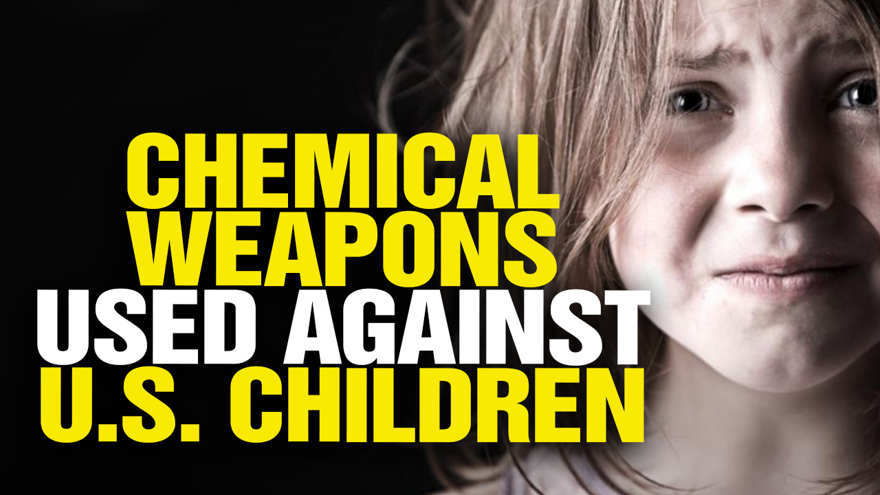 Image: U.S. Govt. Uses Chemical Weapons Against American Children (Video)