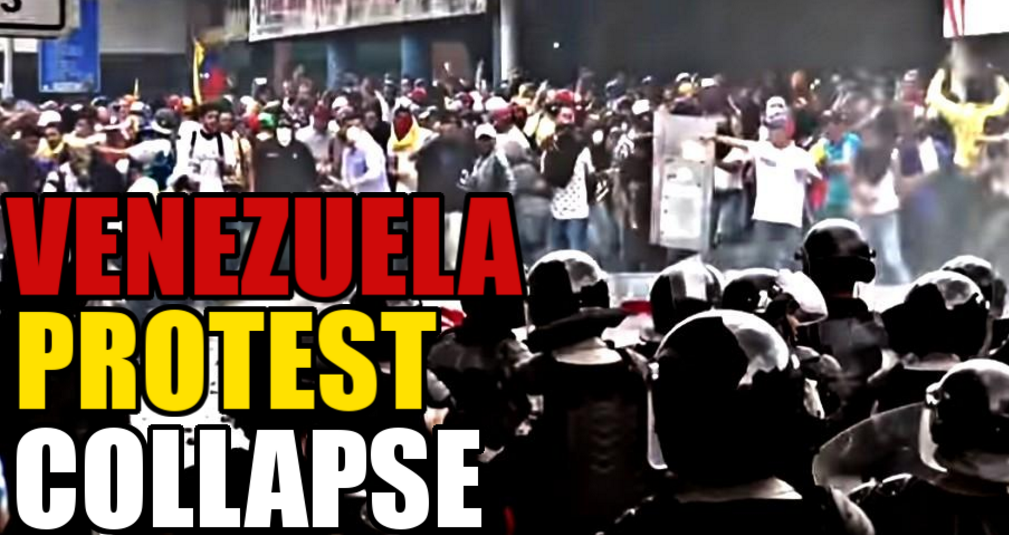 Image: The Venezuelan People Push Back Against the Socialist Regime with Massive Protests (Video)