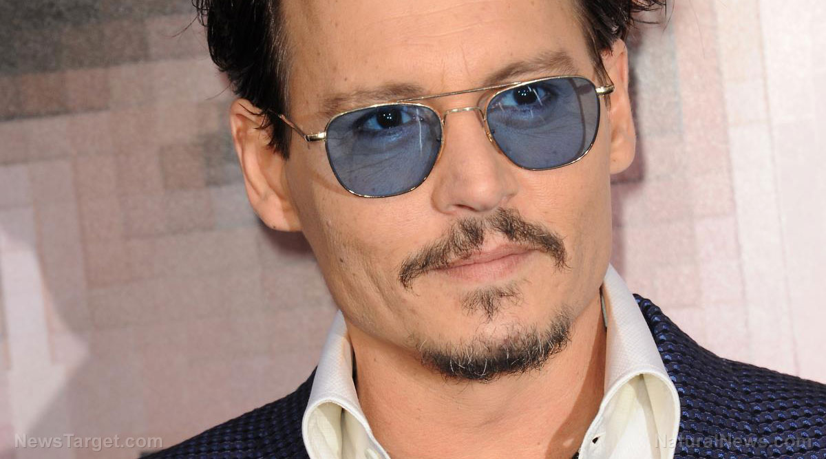Image: Johnny Depp Says He Wants to Assassinate Trump (Video)
