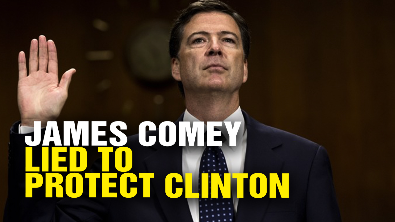 Image: James Comey LIED to America over Criminal Investigation of Hillary Clinton (Video)