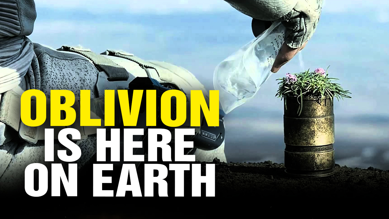 Image: OBLIVION Film Reveals How YOU Are Being Brainwashed to Destroy the Planet (Video)