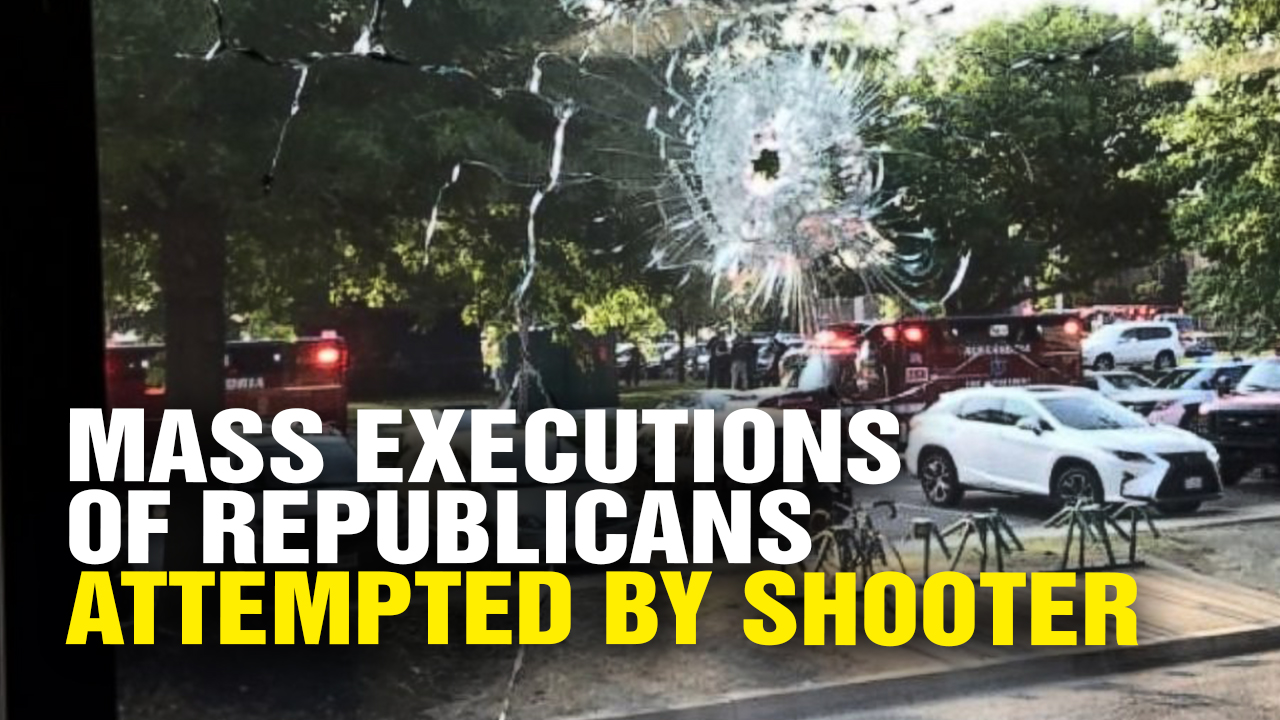 Image: Radical Left-Wing Lunatic Attempts MASS POLITICAL EXECUTION of Republicans (Video)