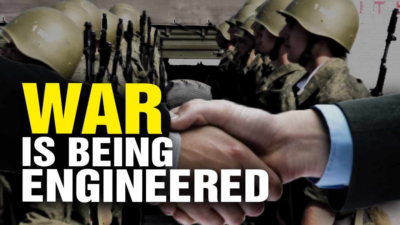 Image: WAR Is Being ENGINEERED on Purpose (Video)