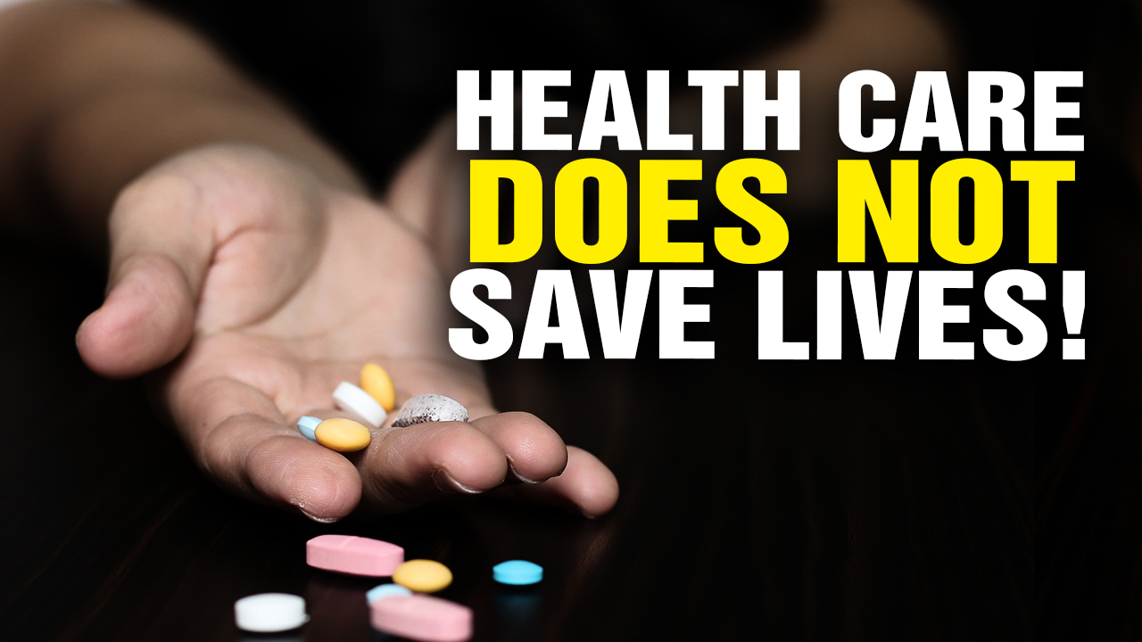 Pharma-Run Health Care Does NOT Save Lives! (Video)