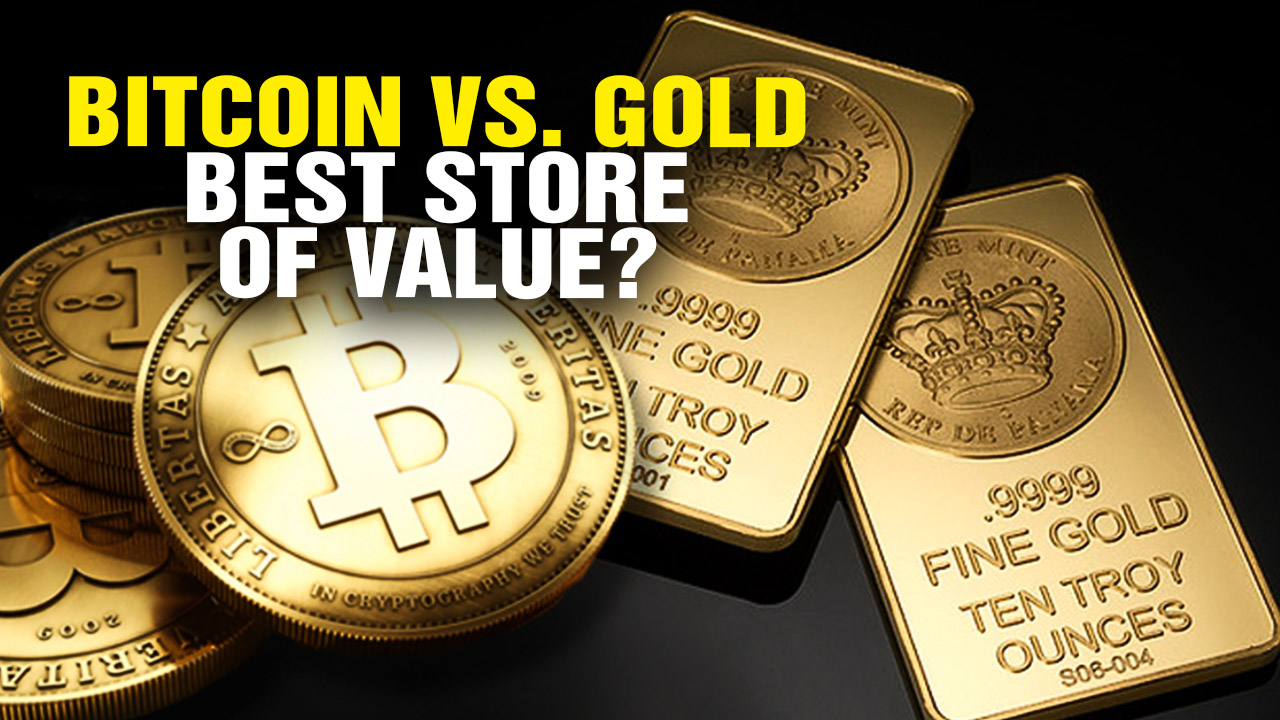 Image: Bitcoin vs. Gold: Which Is a Better Store of Value? (Video)