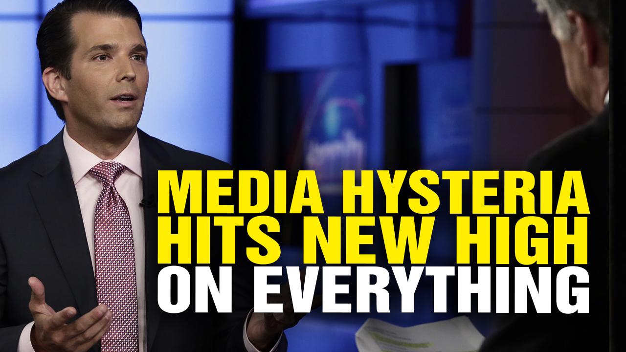 Image: Media HYSTERIA Reaches New High over EVERYTHING Related to Trump (Video)