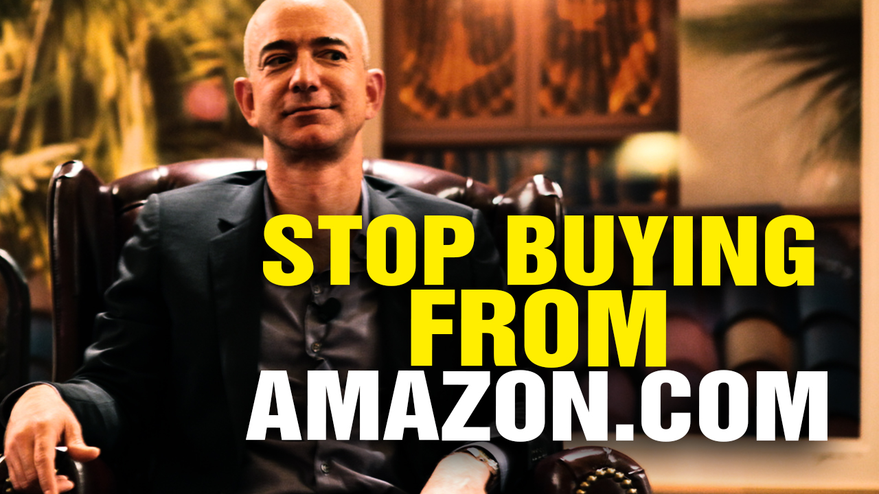 Image: STOP Buying from AMAZON! (Video)