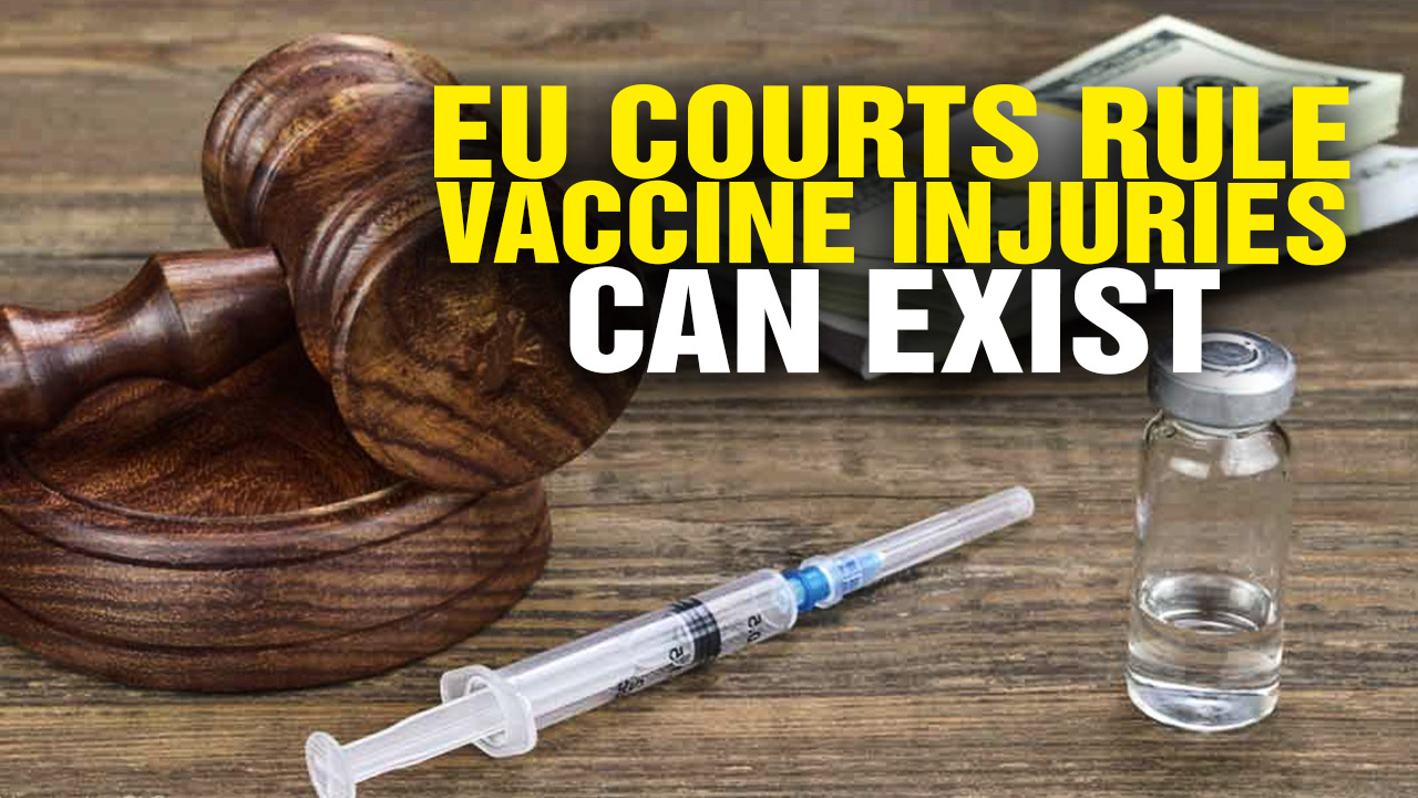 Image: EU Courts Rule Vaccine Injuries Can Exist (Video)