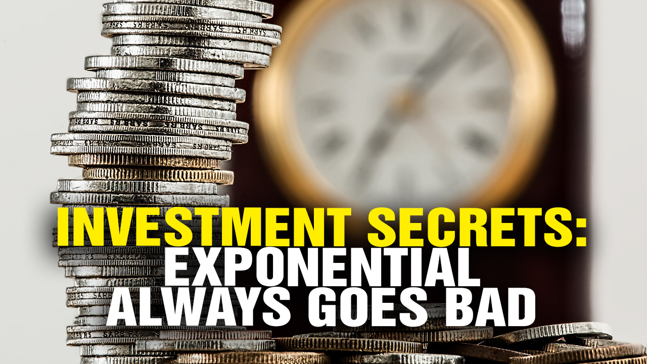 Image: Investment SECRETS: Exponential Growth ALWAYS Crashes (Video)