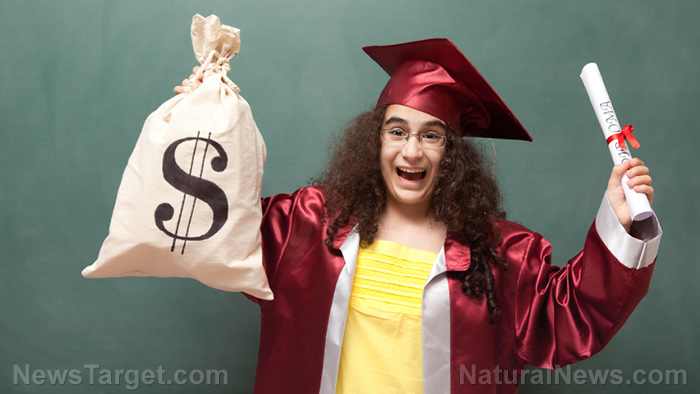 "Image: Health Ranger asks: ""What would really happen if college tuition were free?"""