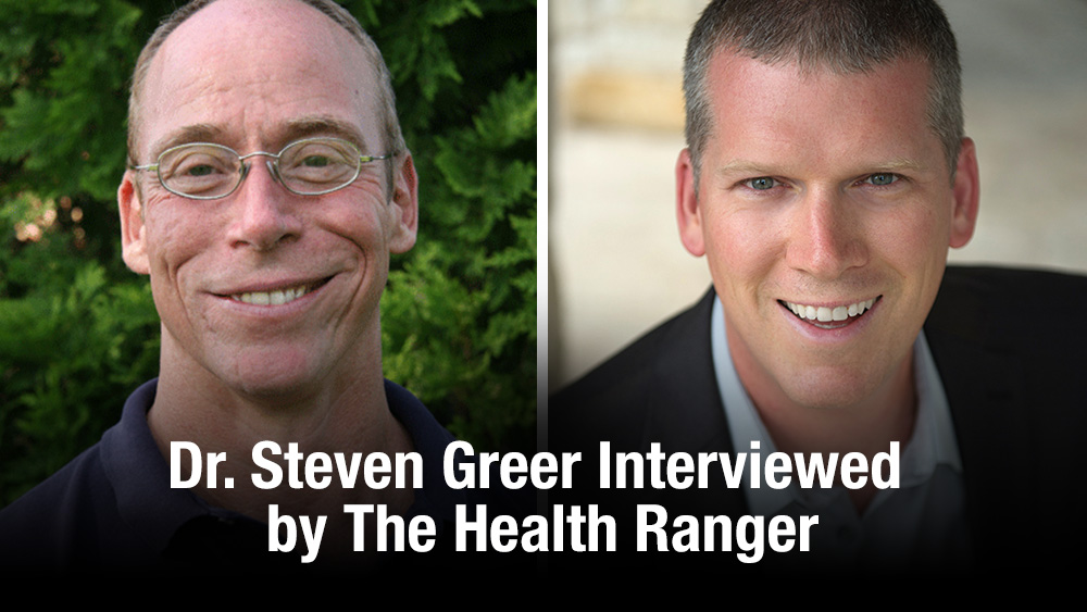 "Image: Dr. Steven Greer interviewed by the Health Ranger: Secret groups planning false flag ""alien"" attack to roll out world government"