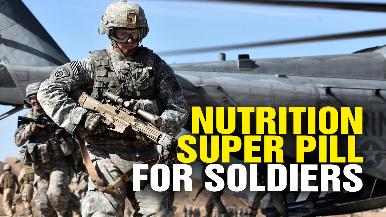 "Image: Health Ranger to Develop ""Super Pill"" for Soldiers (Video)"