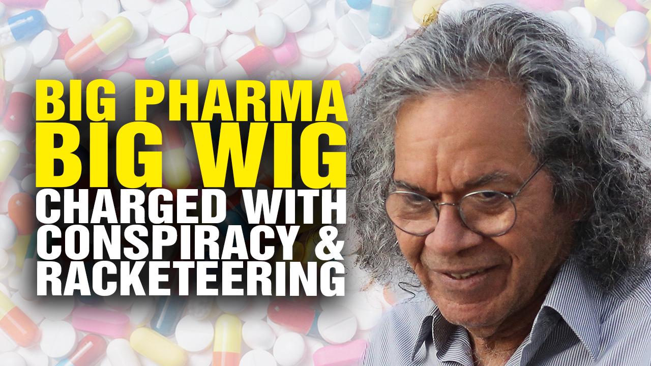 big pharma big wig charged with conspiracy and bribery  video