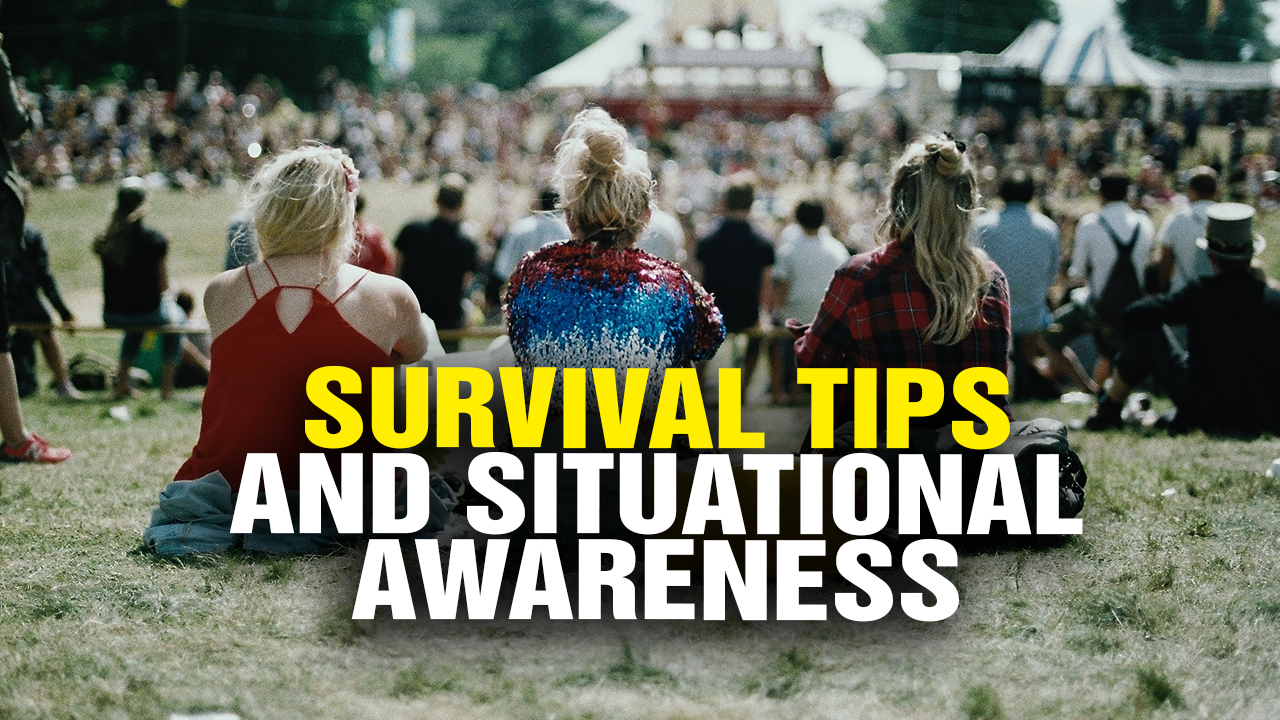 Image: Survival Tips and Situational Awareness (Video)