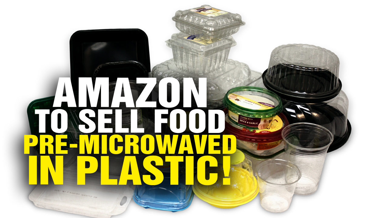 "Image: Amazon to Sell ""Food"" Pre-MICROWAVED in Plastic! (Video)"