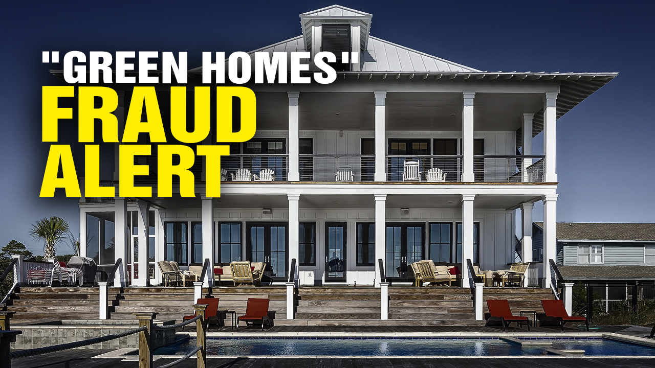 "Image: ""Green Homes"" FRAUD alert! (Video)"