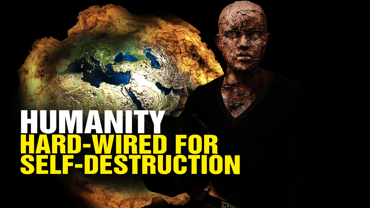 Image: Humanity hard-wired to DESTROY itself (Video)