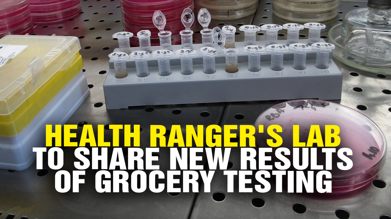 Image: Health Ranger's LAB to SHARE results of grocery testing (Video)