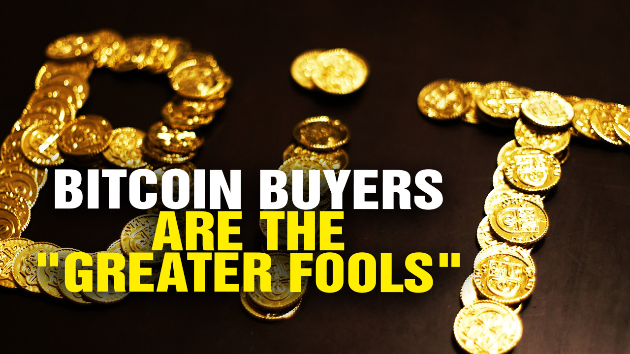 "Image: Everybody Buying BITCOIN Now Is The ""Greater Fool"" (Video)"