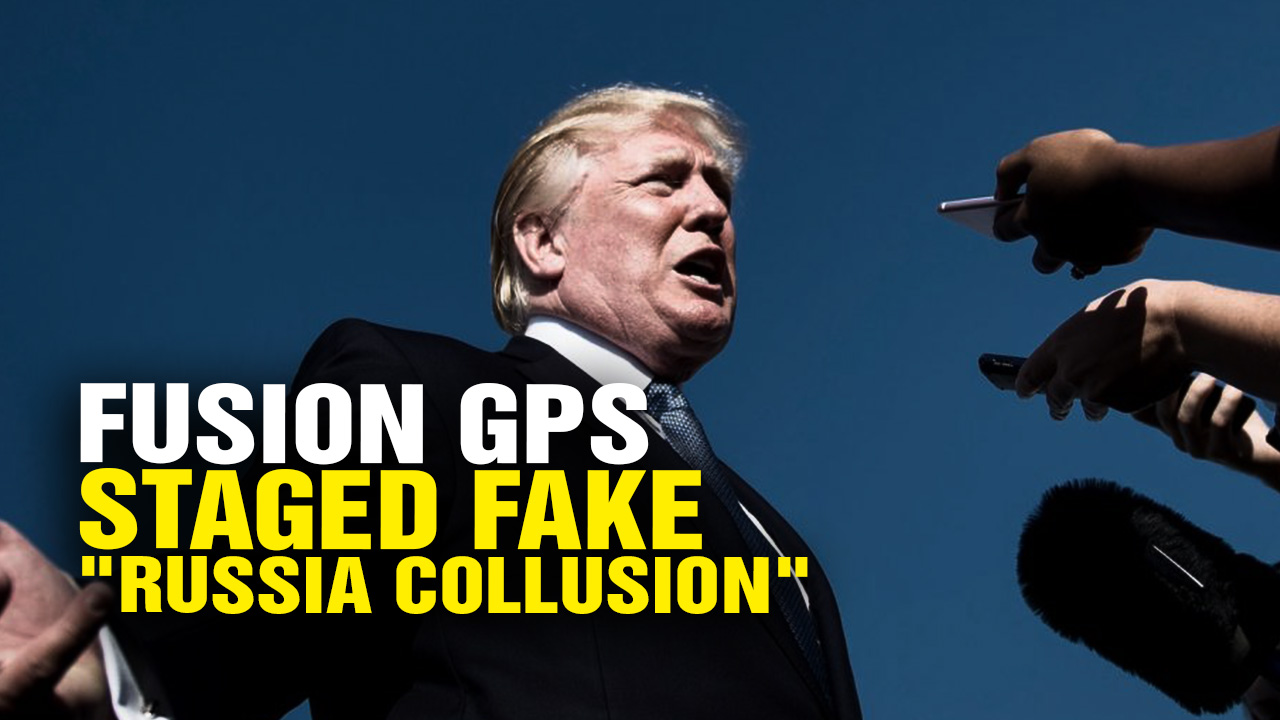 "Image: IT WAS STAGED! Fusion GPS Staged ""Russia Collusion"" Meetings to Blame Trump (Video)"