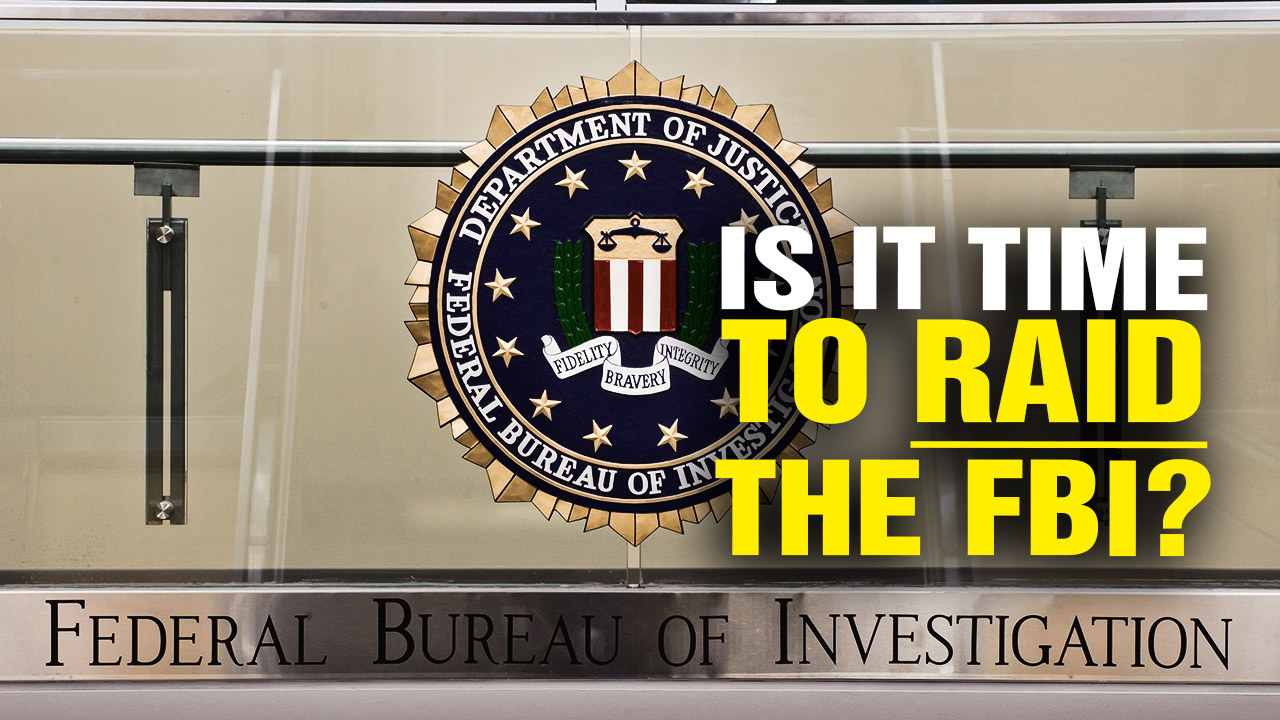 Image: Is It Time to RAID the FBI? (Video)